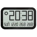Oregon Scientific Radiowa stacja metereologiczna JUMBO Zegar ścienny sterowany radiowo JW 108 BLACK