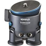 Novoflex Aluminium-Dreibeinstativ TrioBalance 3-Bein Stativbasis mit Nivellierung