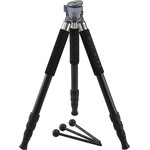 Novoflex Kit de trípode TrioBalance A2840 con patas de aluminio de 4 segmentos