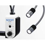 SCHOTT Système d'éclairage Easy LED Double Spot Plus avec alim. secteur