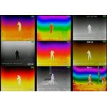 Dieses Musterbild zeigt Ihnen die verschiedenen Darstellungen der wählbaren Farbmodi.