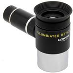 Omegon Oculare con reticolo Kellner 12 mm, illuminato