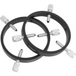 Omegon Anéis de fixação de telescópio guia Basic Guiding rings 105 mm