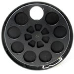 "Moravian Filter wheel for G4 CCD camera - takes 9x 2"" or 50mm filters, unmounted"