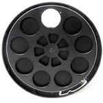 """Moravian Filterrad für CCD-Kamera G4 - 9x 2""""- oder 50-mm-Filter, ungefaßt"""