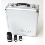 Explore Scientific Set oculare 70° cu geanta: 10mm, 20mm, 35mm