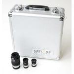 Explore Scientific Valise d'oculaires 70° 10mm, 20mm, 35mm