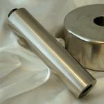 Contre-poids Software Bisque Prolongateur d'axe de contrepoids,  diamètre 48 mm, longueur 204 mm