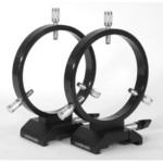 Losmandy Guide scope rings with quick-release connector, 125mm