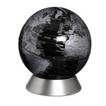 emform Globe Orion piggy bank, black 14cm