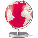 emform Globe Terra Red Light 24cm