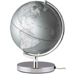 emform Globe Terra Silver Light 25cm