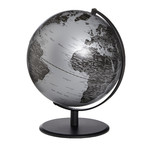 Globe emform Pluto Matt Silver 24cm