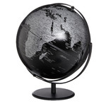 Globe emform Saturn Matt Black 30cm