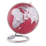 emform Mini globe Galilei Red 13,5cm