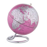 Mini-globe emform Galilei Pink