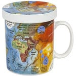 Könitz Mugs of Knowledge for Tea Drinkers Geography