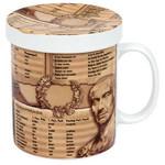 Könitz Wissensbecher für Teetrinker Latein
