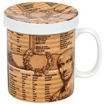 Könitz Mugs of Knowledge for Tea Drinkers Latin