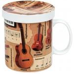 Könitz Wissensbecher für Teetrinker Musik