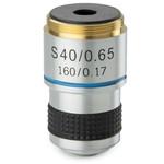 Euromex Objective MB.7040, DIN, achrom, SP40x/0.65 (MicroBlue)