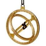 Kala Taschensonnenuhr Antik-Design