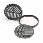 Farpoint Masque de Bahtinov Snap-in pour réflex avec un diamètre de filtre de 58 mm