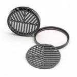 Farpoint Masque de Bahtinov Snap-in pour réflex avec un diamètre de filtre de 77 mm