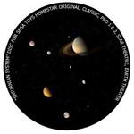 Redmark Dia für das Sega Homestar Pro Planetarium Saturn-System