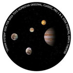 Redmark Dia für das Sega Homestar Pro Planetarium Jupiter-System