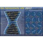 Astronomie-Verlag Plakaty Das Astronomische Jahr 2017