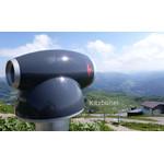 idee-Concept Telescoop Toevoegen van uw logo