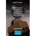 Livre Springer A Practical Guide to Lightcurve Photometry and Analysis