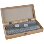 Bresser 50 preparatów trwałych w drewnianym pudełku