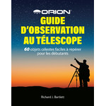 Livre Orion Guide d'observation au télescope