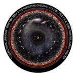 Redmark Dia für das Sega Homestar Planetarium Geschichte des Universums