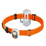 Alpina Sports Lanterna frontala AS01, portocalie