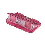 Vixen Opera glasses Lorgnette 3x28, pink, translucent