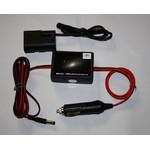 Ertl Elektronics Bloque de alimentación móvil de 12V para Canon EOS 5D, 6D, 60D, 60DA, 7D