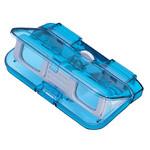 Vixen Opera glasses Lorgnette 3x28, blue, translucent