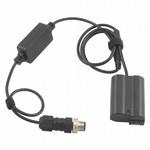 PrimaLuceLab Cablu alimentare compatibil EAGLE pentru Nikon D3100, D3200, D3300, D5100, D5200, D5300, D5500