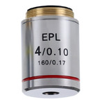 Euromex Obiettivo IS.7104, 4x/0.10, wd 15,2 mm, EPL, E-plan (iScope)