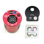 """ZWO Aparat fotograficzny ASI 1600 MMC Cool Mono V3 + EFWmini + LRGB 1,25"""" Set"""