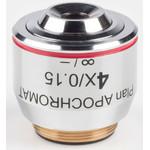 Motic Obiettivo 4X / 0.15, wd 20mm,  CCIS, PL APO, plan, apochrom., infinity, (BA410E, BA310)