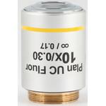 Motic Obiettivo 10X / 0.30, wd 11.7mm, CCIS, PL UC FL, plan, fluo, infinity, (BA410E, BA310)