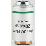 Motic Obiettivo 20X / 0.50, wd 2.2mm, CCIS, PL UC FL, plan, fluo, infinity, (BA410E, BA310)