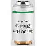 Motic Objective 20X / 0.50, wd 2.2mm, CCIS, PL UC FL, plan, fluo, infinity, (BA410E, BA310)