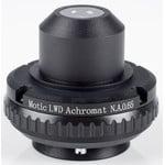Motic Condensador, N.A. 0,65, wd 10,8mm, LWD, acrom., diafragma de iris (BA410E, BA310)