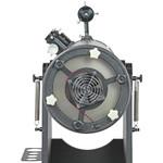 Mayor rapidez de enfriamiento = mayor rapidez de observación: ventilador para el espejo principal.