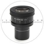 Euromex AE.3223, HWF 10 eyepiece micrometer reticule (Oxion)